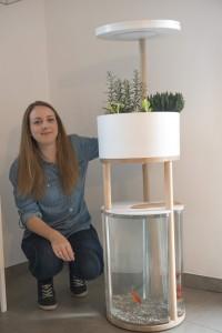 Kelsey Julius et son prototype Odena Garden
